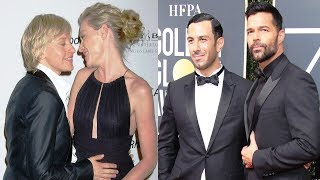 100 Gay Celebrity Couples in Hollywood in 2017