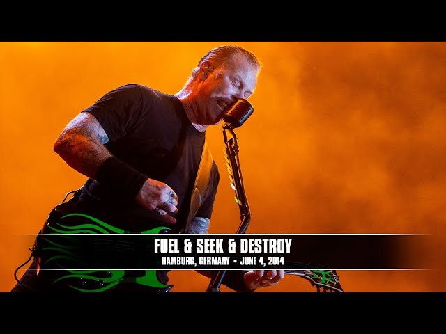 Metallica: Fuel and Seek & Destroy (MetOnTour - Hamburg, Germany - 2014)
