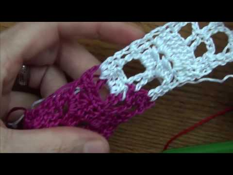 Crochet a Free Form Bracelet Pt 9 of 10