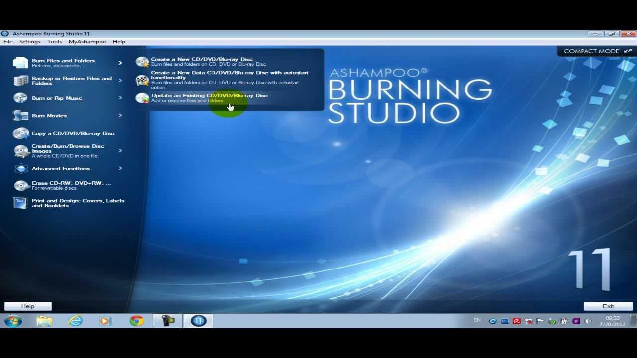 Ashampoo Burning Studio 10 Full Espanol
