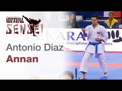 Antonio Diaz - Kata Annan - 21st WKF World Karate Championships Paris Bercy 2012