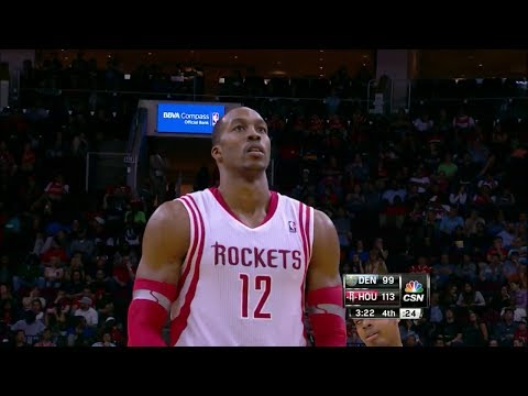 Dwight Howard Full Highlights vs Nuggets (2013.11.16) - 25 Points, 7 Rebounds, 17/24 FTs