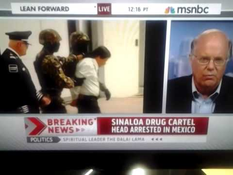 Video of EL CHAPO GUZMAN getting arrested 2014