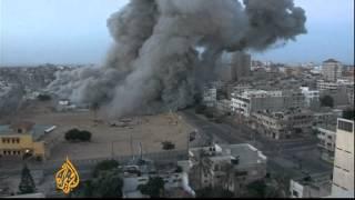 Early-morning strikes hit Gaza