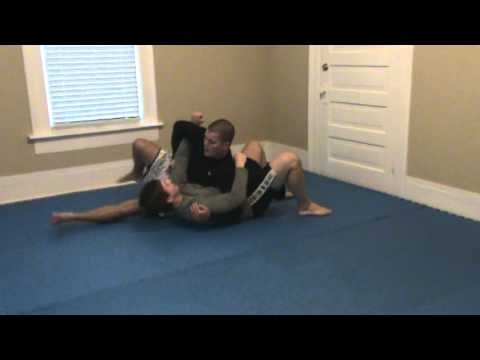 Darce Choke from Crucifix Setup