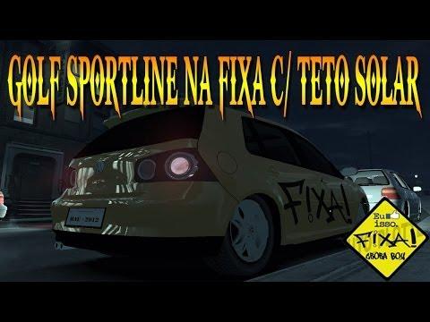 GTA IV EFLC - Golf Sportline Na Fixa C/Teto Solar