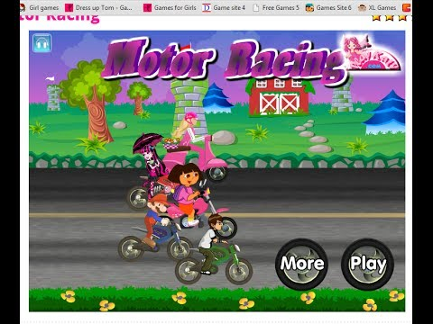 Dora Motor Racing - Fun Baby and Kids Cartoon Games