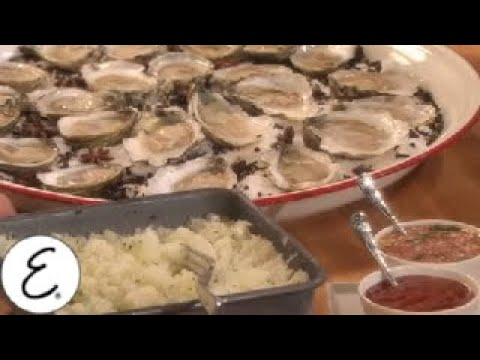 Raw Oysters on the Half Shell - Emeril Lagasse