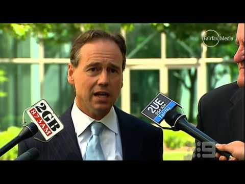 Greg Hunt announcies climate sceptic Dick Warburton will lead the RET review