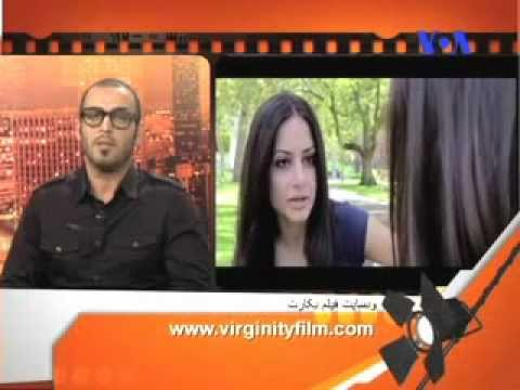 Virginity Movie Interview in Voice of America TV channel, فیلم سینمایی بکارت