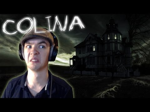 Colina | CASPER IS THAT YOU? | Indie Horror Game | Commentary/ Face cam reaction