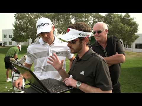 US Open Champion Martin Kaymer testing spin on his wedge