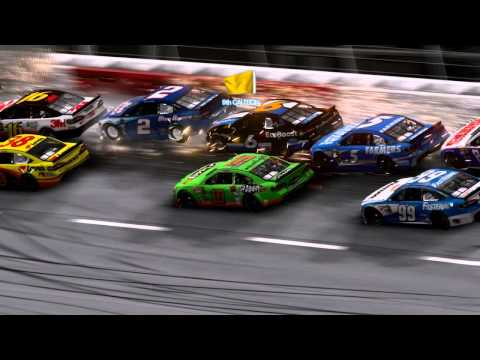 NASCAR The Game 2013 - Crashes Compilation
