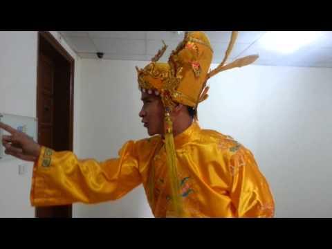 Lộ clip hậu trường VTV Táo quân 2014