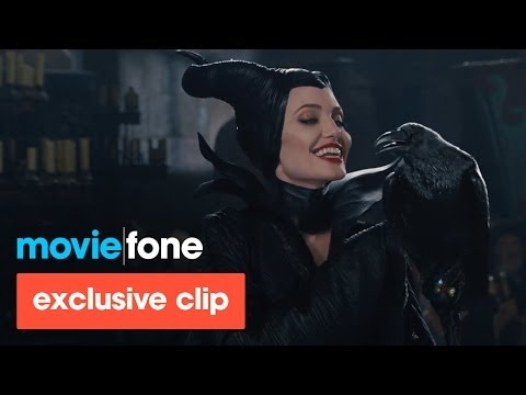 'Maleficent' Exclusive Clip (2014): Angelina Jolie, Elle Fanning