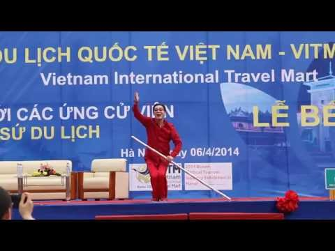 Lục Tiểu Linh Đồng - Tôn Ngộ Không biểu diễn màn múa gậy tại Hà Nội [1080p]