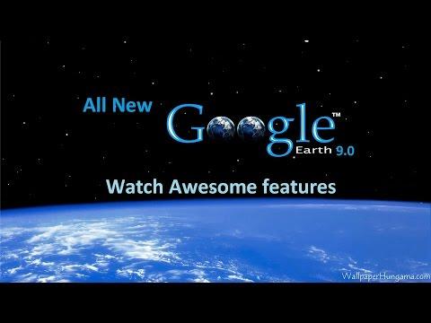 All new Google Earth app..Features walkthrough....