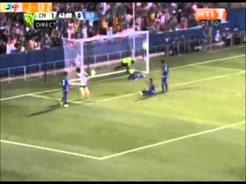 RTI-Mondial/ 2ème Match de préparation :le but de Drogba Didier