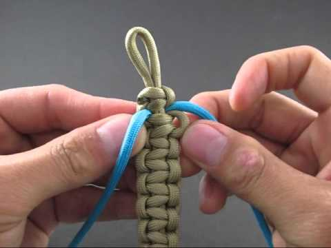 How to Make a Crisscrossed Solomon Bar (Bracelet) by TIAT