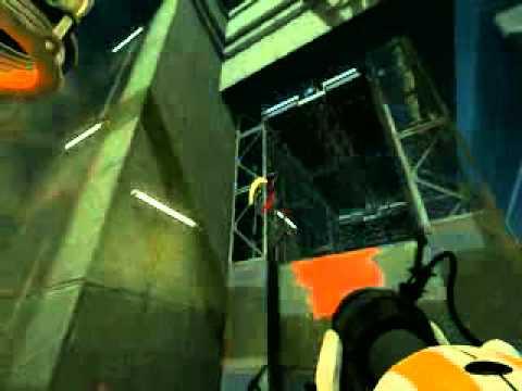 Игра топ-1 или розовый в Portal 2