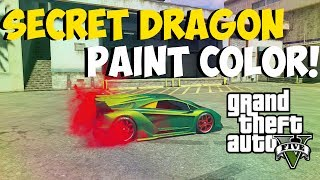 "GTA 5 Online Amazing ""DRAGON PAINT COLOR"" Paint Colors"