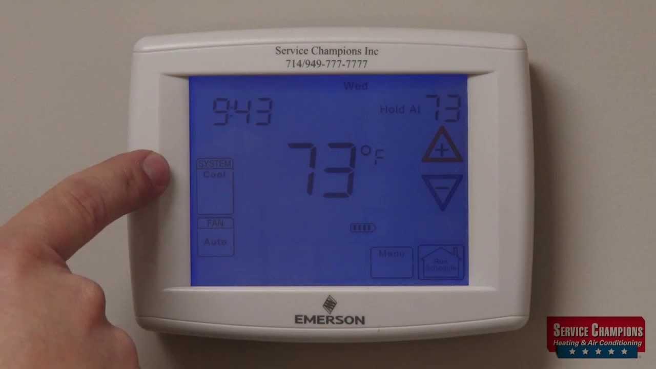 Emerson Thermostat 1f95 Service Champions