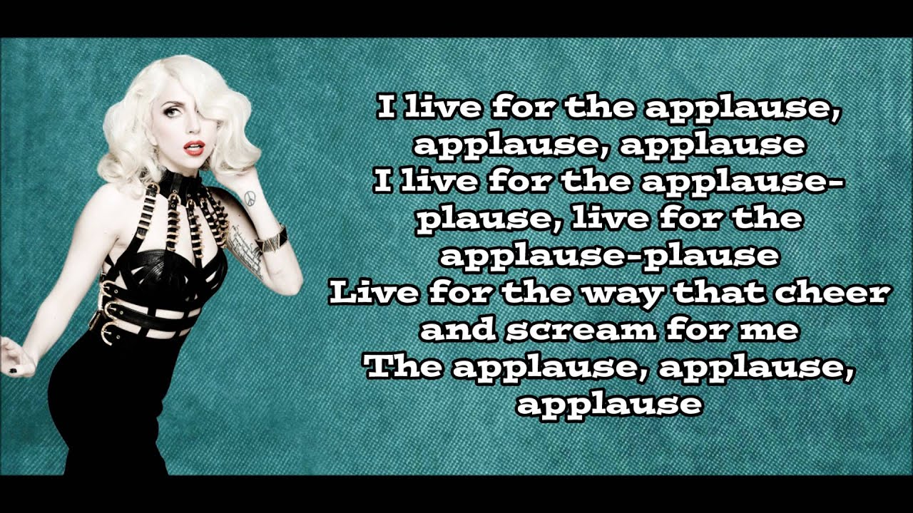 Lady Gaga - Applause Lyrics (Official Audio) - YouTube | 1280 x 720 jpeg 216kB