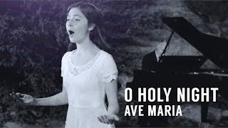 O Holy Night / Ave Maria ft. Lexi Walker - The Piano Guys