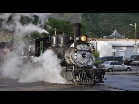 Denver and Rio Grande Steam Train 315 - Durango and Silverton