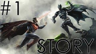 Injustice: Gods Among Us Walkthrough Story Mode Part
