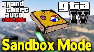 "GTA Online NEW ""Sandbox Mode"" (Rockstar Make This Happen"