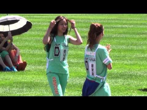 20130903 A-PINK BoMi & NaEun & NamJoo & HaYoung @ Idol Sports Athletics Championships
