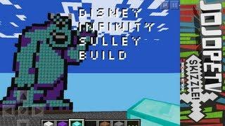 Sulley Disney Infinity  - Minecraft Pocket Edition Speed Build