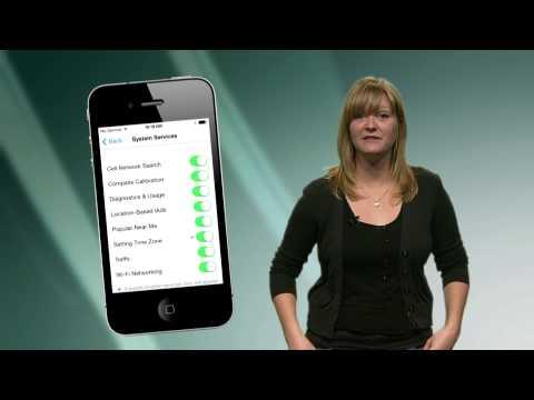 Apple iOS7 Privacy Settings