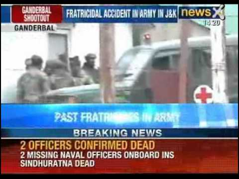 Fratricidal accident in Army in Jammu and Kashmir