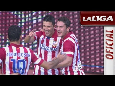 Resumen de Real Sociedad (1-2) Atlético de Madrid - HD - Highlights