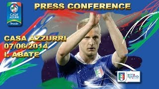 Abate - conferenza stampa