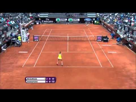 Maria Sharapova vs Garbine Muguruza French Open 2014 QF Preview and Live Streaming