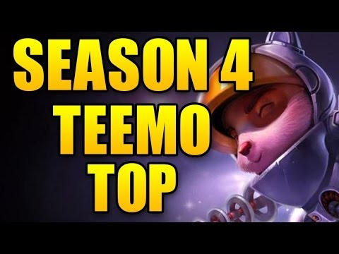 Teemo Top vs Shyvana - Season 4 League Of Legends