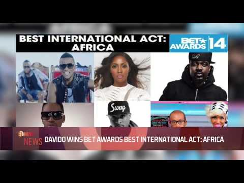 DAVIDO WIN BET AWARDS BEST INTERNATIONAL ACT: AFRICA - EL NOW News