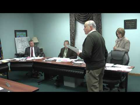 Champlain Town Board Meeting 1-10-12