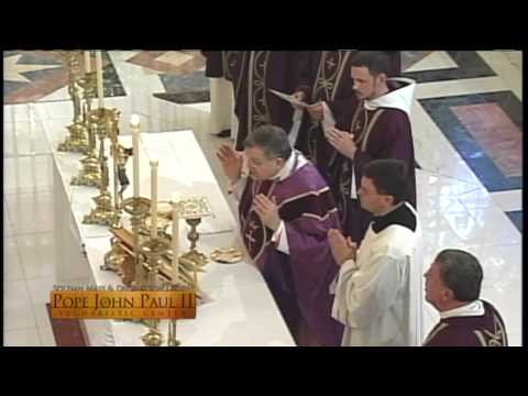 Solemn Mass and Dedication of the John Paul II Eucharistic Center- 2013-12-8