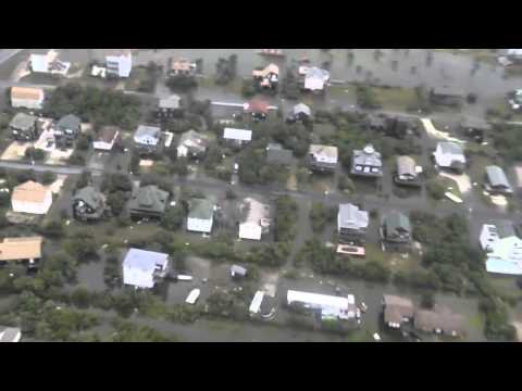 Post-Hurricane Arthur overflight