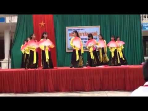 Múa Quạt Hồn Quê_THCS Hương mạc 2