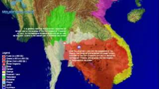 Animated Time Map Of The Khmer Empire & Southeast Asia