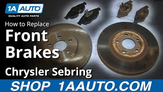 How To Install Replace Do A Front Brake Job 2001-06
