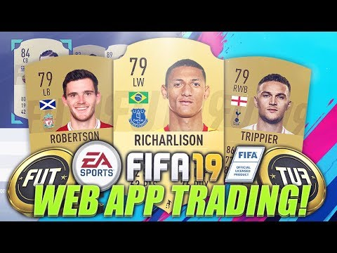 BEST WAYS TO MAKE COINS ON THE FIFA 19 WEB APP! (FIFA 19 Trading Tips)