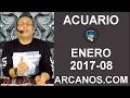 Video Horóscopo Semanal ACUARIO  del 19 al 25 Febrero 2017 (Semana 2017-08) (Lectura del Tarot)