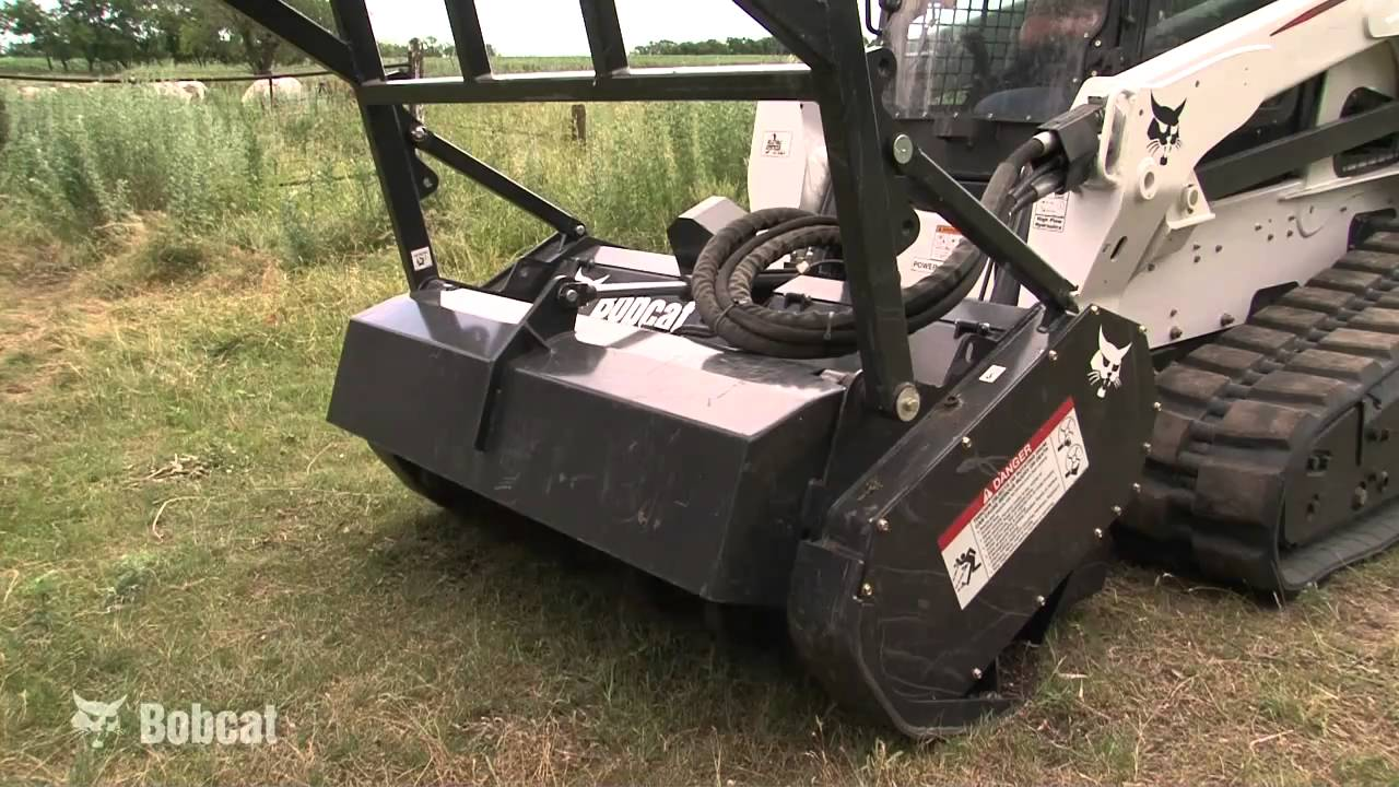 Bobcat Forestry Cutter Attachment  Features And Benefits