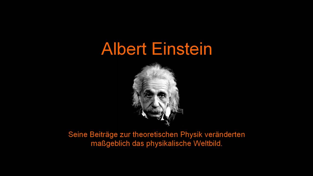 a look at the life of albert einstein Albert einstein (14 march 1879 life einstein was born [at ulm but people moving in another frame will look over at them and see that their clocks were.
